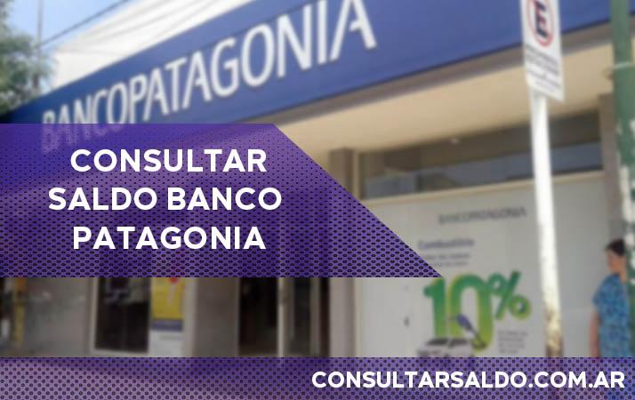 consultar saldo banco patagonia