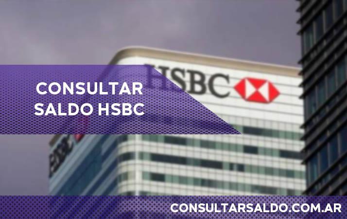 como consultar saldo hsbc
