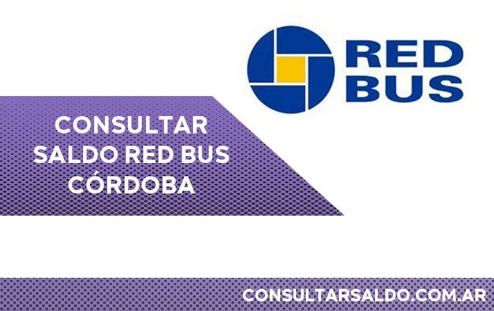 consultar saldo red bus cordoba