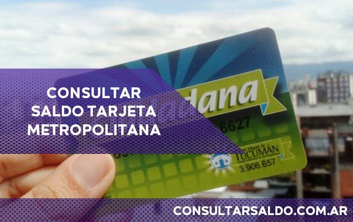 consultar saldo tarjeta metropolitana