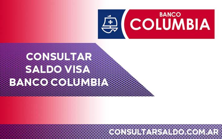 consultar saldo visa banco columbia