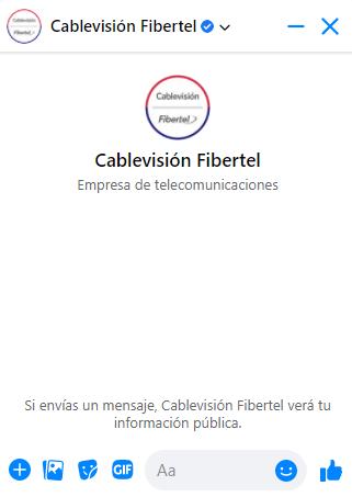 chat en vivo con cablevision fibertel
