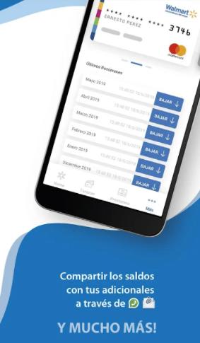consultar saldo tarjeta walmart por app